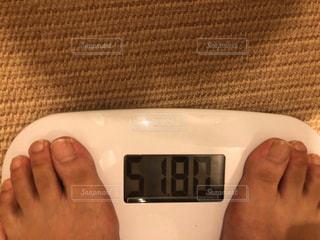 体重計の写真・画像素材[1221704]