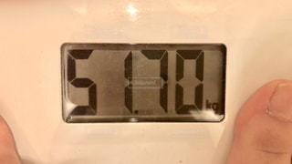体重の写真・画像素材[1221724]