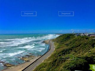 海岸  波  青空の写真・画像素材[765929]