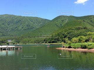 田貫湖  山の写真・画像素材[766529]