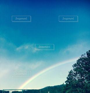空に虹の写真・画像素材[767815]