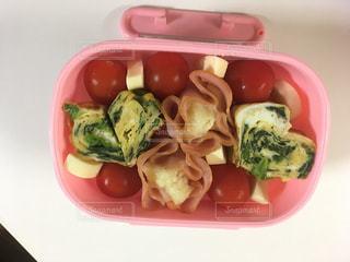 お弁当☆2歳女の子の写真・画像素材[827370]