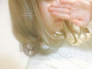 金髪の女の写真・画像素材[767081]