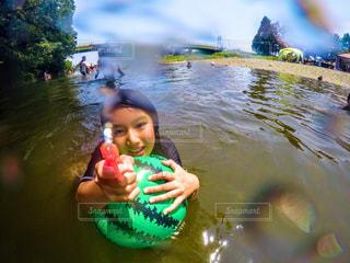 水遊びの写真・画像素材[773989]