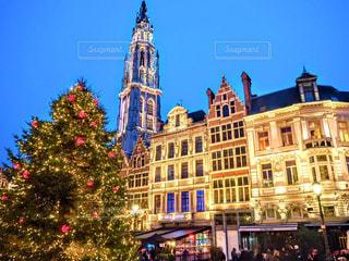 ブリュッセルのクリスマスの写真・画像素材[774182]