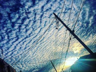 ウロコ雲の写真・画像素材[779505]