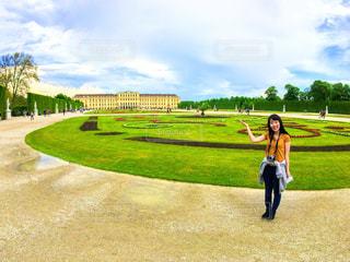 シェーンブルン宮殿の写真・画像素材[790903]