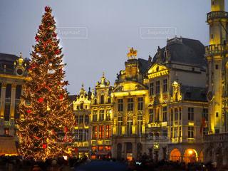 ブリュッセルのクリスマスの写真・画像素材[889041]