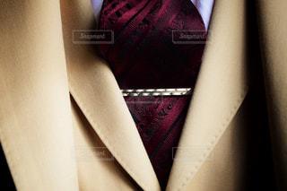 オーダースーツの胸元 - No.770990