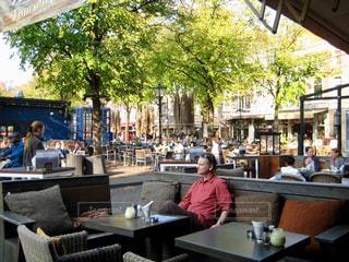 オランダ ハーグのカフェにての写真・画像素材[810071]