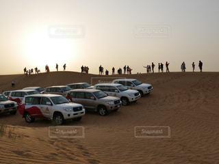 砂漠のひとときの写真・画像素材[768741]