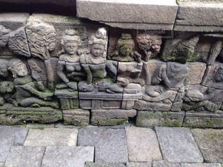 石の壁の写真・画像素材[844263]