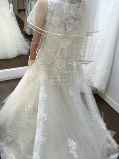 ウェディング ドレスの人の写真・画像素材[770080]