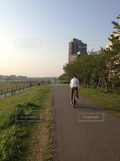 サイクリングの写真・画像素材[770505]