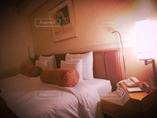 ベッドの写真・画像素材[770600]