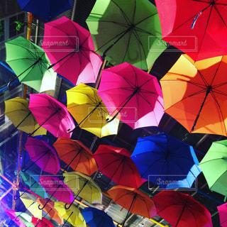 傘いっぱいの写真・画像素材[770348]