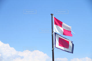 信号旗の写真・画像素材[2225501]