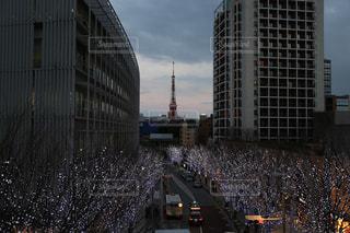 高層ビルの都市の景色の写真・画像素材[770960]