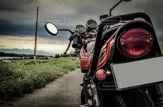バイクがある生活の写真・画像素材[1457517]