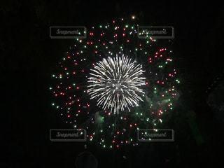 夜空の花火の写真・画像素材[780336]