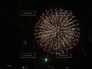 夜空の花火の写真・画像素材[780338]