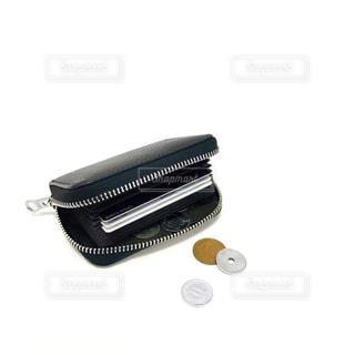 シンプルな財布の写真・画像素材[1160131]
