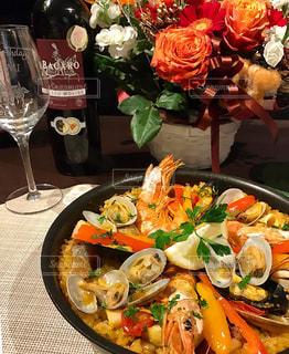 食品の完全なテーブルの写真・画像素材[774494]