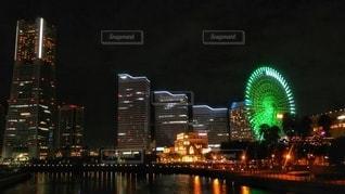 横浜の夜景の写真・画像素材[3380617]