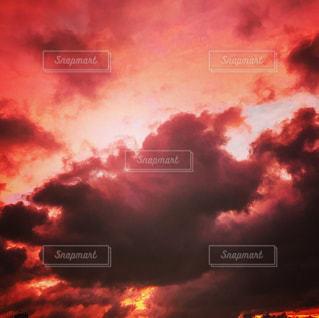 台風前の空の写真・画像素材[820427]