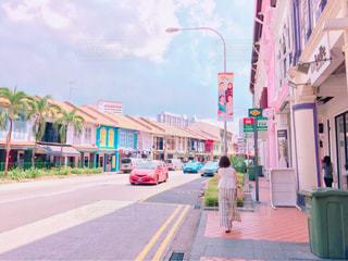 おしゃれな街の写真・画像素材[775137]