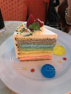 レインボーケーキの写真・画像素材[777208]