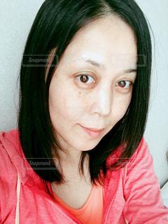 ノーメーク女性の写真・画像素材[811607]