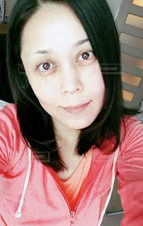 ノーメーク女性の写真・画像素材[811626]