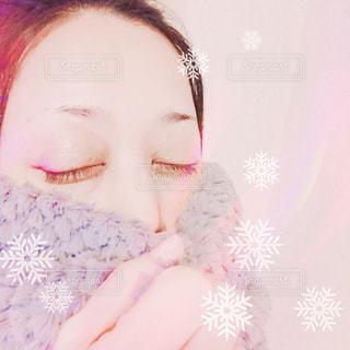 雪の結晶の写真・画像素材[839364]