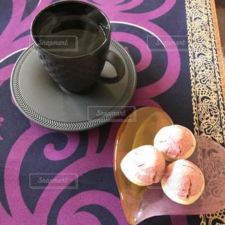 コーヒーとスイーツの写真・画像素材[938545]