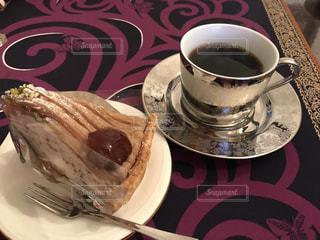コーヒー とケーキの写真・画像素材[938556]