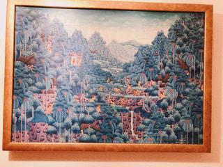 壁の絵の写真・画像素材[938631]