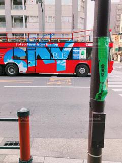 2階建てバスの写真・画像素材[987652]