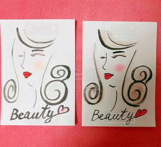 化粧の違う2人の女性の写真・画像素材[991172]