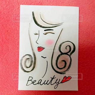 化粧した女性の写真・画像素材[991182]