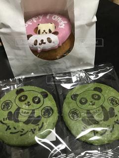 パンダのお菓子の写真・画像素材[1000819]