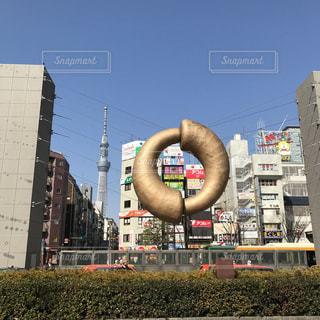 錦糸町駅にての写真・画像素材[1016153]