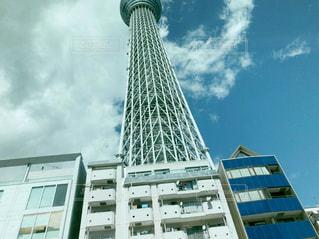 背の高い建物の写真・画像素材[1078481]