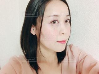 女性 横顔の写真・画像素材[1128268]