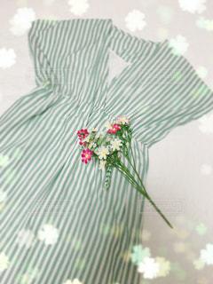 花とワンピースの写真・画像素材[1360779]