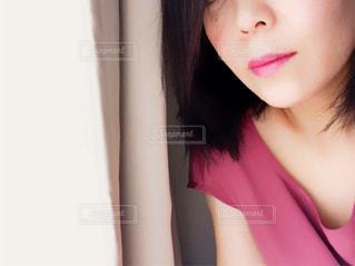秋色  女性の写真・画像素材[1454171]
