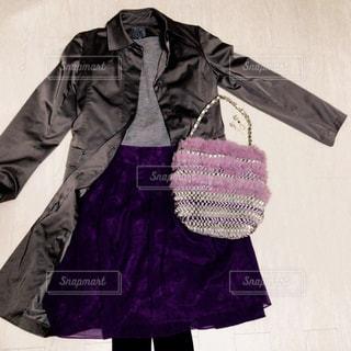 パープルのスカートの写真・画像素材[1553335]