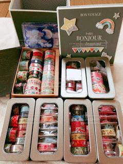 マスキングテープのプレゼントの写真・画像素材[2169951]