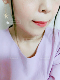 半顔の写真・画像素材[2301690]