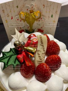 クリスマスケーキの写真・画像素材[2822329]